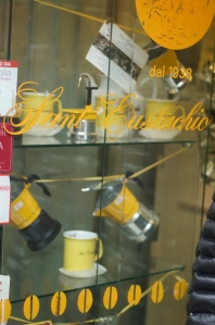 Goodies that you can buy to remember the Sant'Eustachio!  Photo Credit: Matteo Castellani