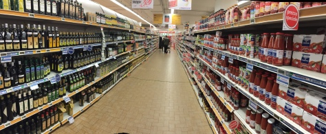 the olio e pomodori aisle! Photo credit: Matteo Castellani