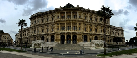 The public building in piazza cavour